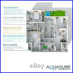 Aquasure Water Softener, Whole House Water Filtration, RO system, 32,000 Grains
