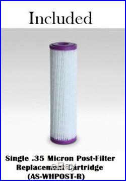 Austin Spring Whole House Water Filter With Salt Free Soft UV Lgt Pre&Post Filter+