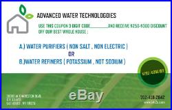 Best Whole House No Salt Water Purification System Plumber Assistance Available