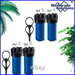 Big Blue 10 Whole House Water Filter Housing (1Port)+ Bracket+ Wrench +Screw