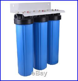 Big Blue 20 Water Filter System 1 Triple Whole House/commercial