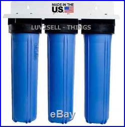 Big Blue 20 Water Filter System 1 Triple Whole House/home Commercial Rv