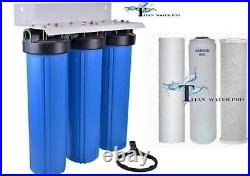 Big Blue 20 Water Filter System 1 With Filters-triple Whole House/commercial