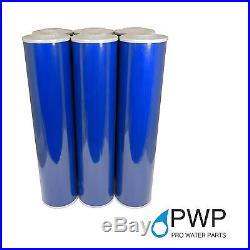 Big Blue 20x4.5 Whole House GAC Granular Coconut Shell Carbon Water Filter 5 Mic
