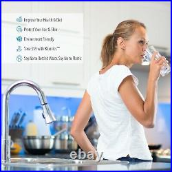 Bluonics 110W UV Ultraviolet Sediment & Carbon Well Water Filter Purifier 24 GPM
