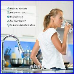 Bluonics Pleated Sediment Water Filters 10 Washable 4.5 x 20 Cardridges 5 Micron
