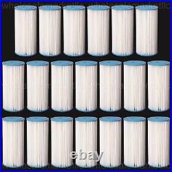 Bluonics Pleated Sediment Water Filters 20 Washable 4.5 x 10 Cardridges 5 Micron