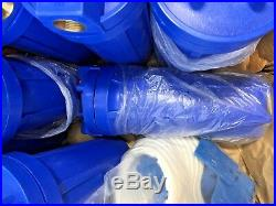 Box of 9 qty Whole House Filter Big Blue Filter Housing with Brackets & wrench