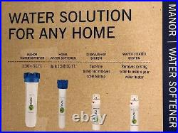 Brand New NuvoH2O DPMB Manor Water Softener System, 8 X 26, 80,000 Grain