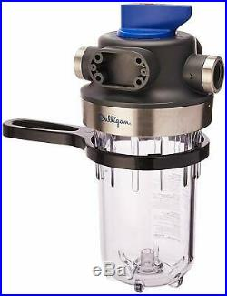 CULLIGAN WH-HD200-C Whole House Sediment Water 1 HD CLR WTR Filter, Clear bowl