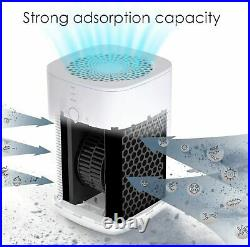 Desktop H13 HEPA Air Purifier for Home Portable Room Air Cleaner Powerful 3Stage