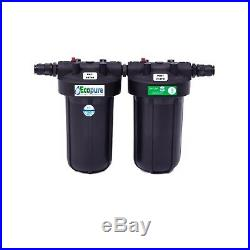 Ecopure Pro 3H+ Whole house drinking water filter chlorine and E-coli removal