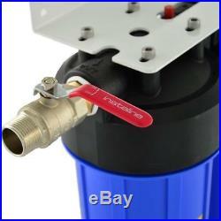 FIT Aqua AWF UPS 3H 20B Whole House Three Stage Sediment Water Filter