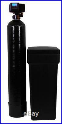 FLECK Water Softener for Whole House 24000 Grain, 8x44 Tank + Bypass, USA