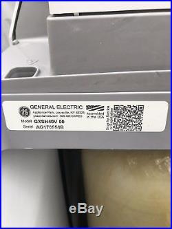 Gray GE Salt-Based Whole House Electric Water Softener 40200 Grain Model GXSH40V