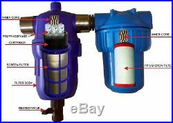 Home/whole house iron removal & Water filter & descaler