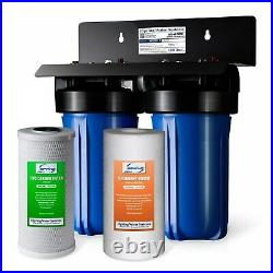 ISpring 2-Stage Whole House Big Blue Water Filtration System