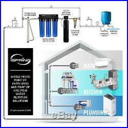 ISpring 3-Stage WGB32BM Whole House Water System LEAD, Iron, Manganese Reduction