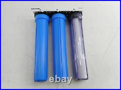 ISpring 3 Whole Water Filtration System Sediment and Carbon Block Filter Housing