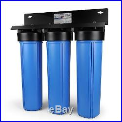 ISpring 3 stage 20 inch Big Blue Whole House Water Filter System