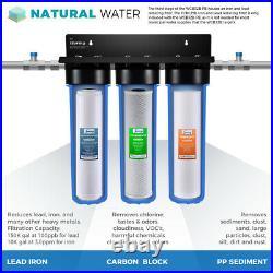 ISpring F3WGB32BPB 20 x 4.5 Replacement Water Filter Pack Fits WGB32B-PB