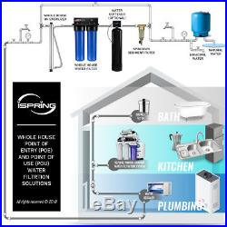Ispring Iron Manganese Removal Whole House Water Filter