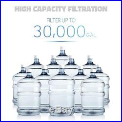 ISpring #WCB32-O 3-Stage 20 inch x 2.5 inch Whole House Filtration System 3/4NPT
