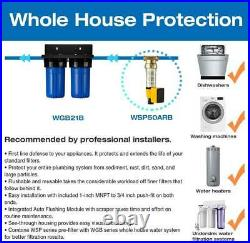ISpring WGB21B 2-Stage Whole House Water System NIB
