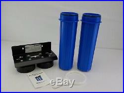 ISpring WGB22B 2-Stage 4.5 x 20 Whole House Water Filtration System