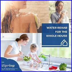 ISpring Whole House Water Filter 55W Ultraviolet (UV) Filtration System, 1 MNPT