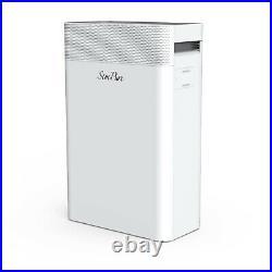 Large Room Air Purifier True HEPA 4xFilters Air Cleaner PM2.5Dust Smoke Pet Odor