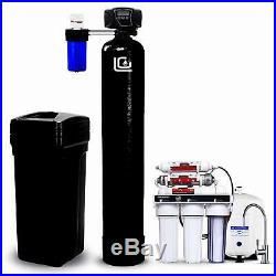 LiquaGen Whole House Water Filter Kit Water Softener + Drinking Water System