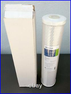 Lot of 8 Pentek CBC20-BB 0.5 Micron 20 x 4-5/8 Carbon Block Filters by Pentair