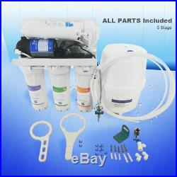 MS 5 Stage RO Water Filter System Set Reverse Osmosis with all Parts Whole House