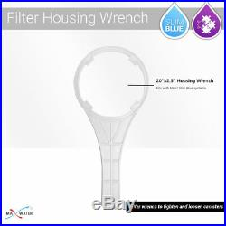 Max Water 3 Stage 20 x 2.5 Whole House Water Filter, Sediment Carbon GAC CTO