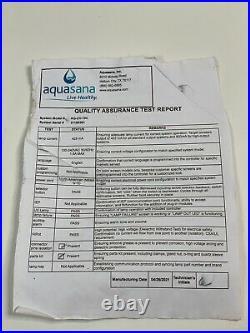 Nearly New $980 Aquasana EQ-1000 Whole House Water Filter 10 year 1,000,000 gl