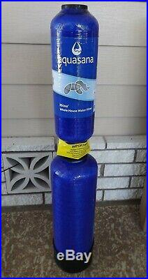 New Aquasana EQ-600 Rhino 600,000 Gal Whole House Water Filter / Conditioner NIB