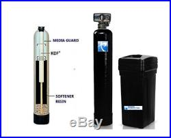 PREMIER WELL WATER SOFTENER + KDF 85 IRON REMOVER WATER SYSTEM 98K Grain 14x65