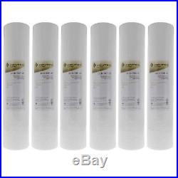 Pentek DGD-5005-20 5 Micron Whole House 20 Inch Sediment Water Filter 6 Pack