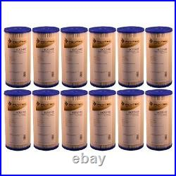 Pentek ECP20-BB 20 Micron 10 Inch Whole House Pleated Sediment Filter 12 Pack