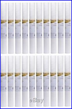 Pentek P5-20 5 Micron 20 x 2.5 Inch Whole House Sediment Water Filter 20 Pack
