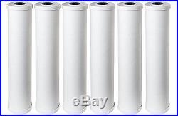 Pentek RFC20-BB 25 Micron 20x4.5 Whole House Radial Flow Carbon Filter 6 Pack