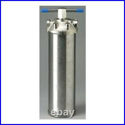 Pentek ST-1 Stainless Steel Standard 10 Inch Water Filter Housing 3/4 NPT