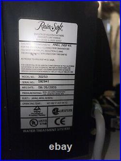 Rain Soft / Whole House Water Purification System