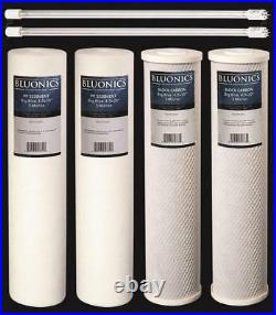 Replacement Filter Set for our Big Blue Well Water System with UV Sterilizer