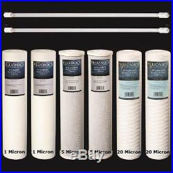 Replacement Filter Set for our Triple Big Blue Water System with UV Sterilizer