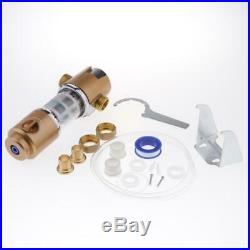 Reusable Spin Down Sediment Water Prefilter 40 Micron for Whole House 25mm