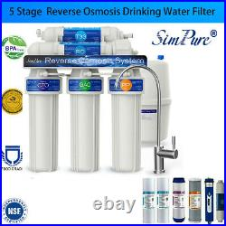 Reverse Osmosis Water Filtration System, Plus Extra 1 Year Cartridge Filters