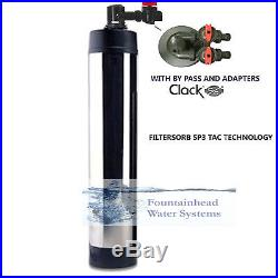 Salt Free Water Softener Conditioner 4.5 L 15 Gpm Whole House System Steel Cover