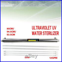 UV Water Purifier Whole House Ultraviolet Light Sterilizer 12 GPM for Bacteria